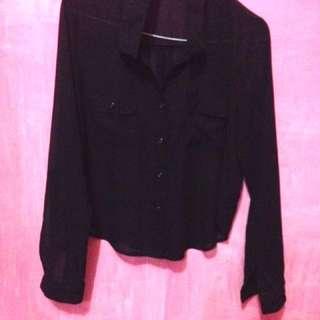 Fornia shirt black