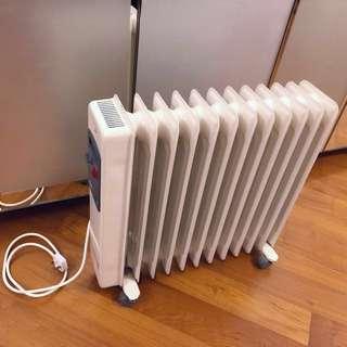 飛利浦12片充油式電暖爐