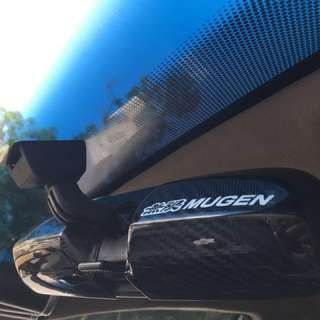 Mugen Carbon Fiber Rear Mirror Casing