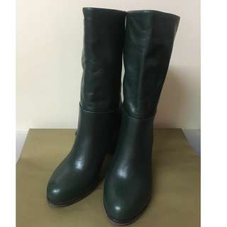 & Other Stories Leather Boots (size 37)