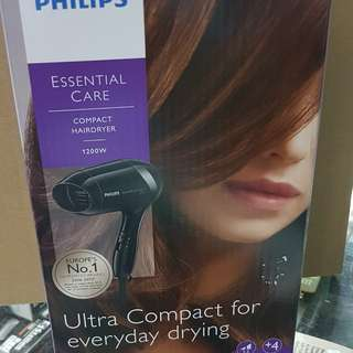 PHILIPS HAIR DRYER 1300W