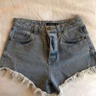 GLASSONS Denim Shorts - Size 8