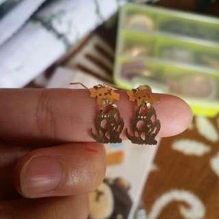 14k gold Earing