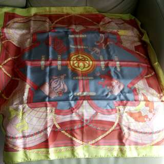 Hermes Silk Scarf 90x90cm 100%real&new