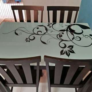 Dining Table Set 4+1