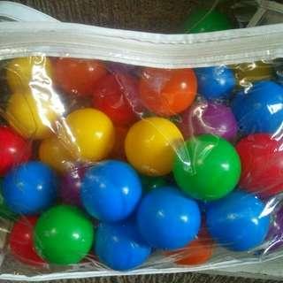 Soft Plastic Colorful Pit Balls