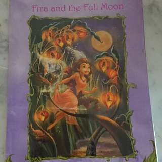 Fira and the full moon, Vidia and the Fairy Crown
