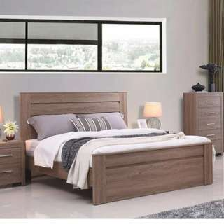 New Arrival! Wooden finished bedroom suite for sale