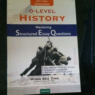 O level history mastering Structured Essay Questions  (#32)