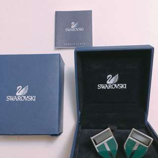 Brand New Swarovski Cufflinks