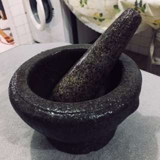 Traditional Pestle and Mortar