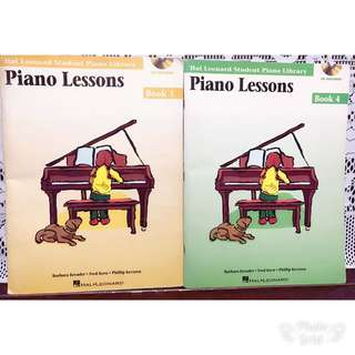 Piano Lessons Books