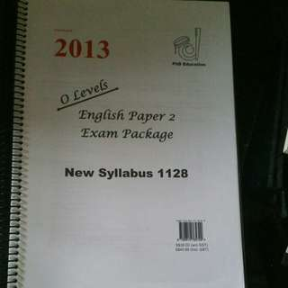 2013 o levels english paper 2 exam package  (#34)