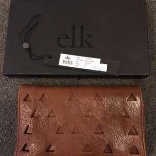 Elk leather wallet/purse