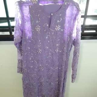 MINI Kurung for Ladies (Purple)