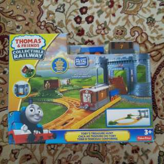 New toby's treasure hunt orginal thomas and friends