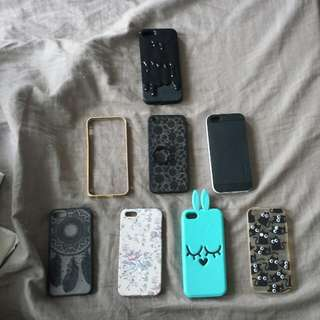 IPhone 5/5s/SE casing bundle