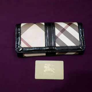 authentic burberry wallet not mk or kate spade