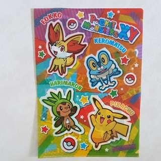 *CHRISTMAS OFFER* Pokemon Centre A4 Clear Folder