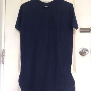 Men Tshirt with both side zipper