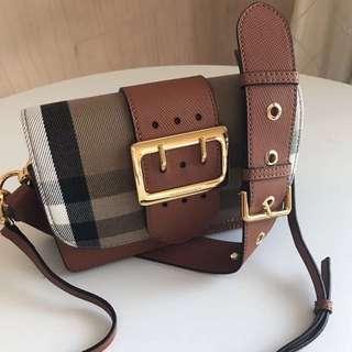 Burberry Buckle Bag