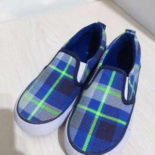 H&M 小童鞋(灰色 29碼)(藍色格仔 28碼)