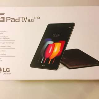 Brand New LG G Pad IV 8.0 - Tablet