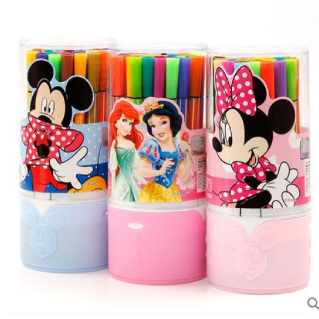 糖果屋🍬精選迪士尼12色彩色筆 交換禮物 聖誕節