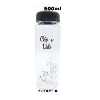 《現貨》日本空運🇯🇵奇奇蒂蒂 隨行杯 水壺 杯子 透明杯 迪士尼