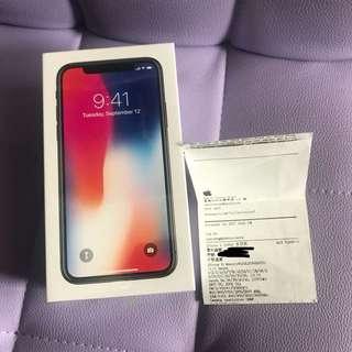 iPhone X 灰色 256GB 原價