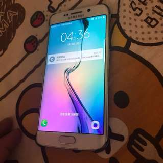 99%new.  Samsung Galaxy S6 edge. 32gb