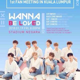 Wanna One FM ticket