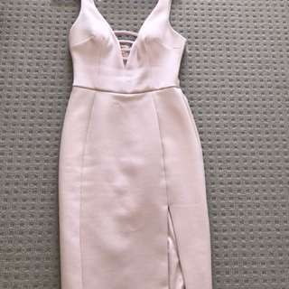 Forever new dress in pink blush size 6