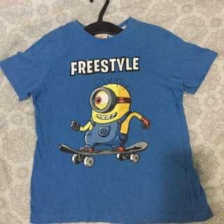 Authentic Terranova Minion Shirt for Boys