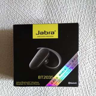 Jabra Bluetooth Wireless Headset BT2035 手提電話無線耳機