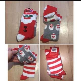 🎄100% New Christmas socks x 3 pairs🎄