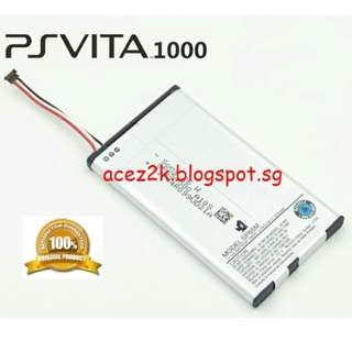 [BN] PSV PS Vita 1000 Original Sony Rechargeable Battery SP65M (Brand New)