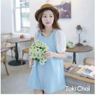 限時下殺⚠水藍甜美洋裝 真的只要一百!