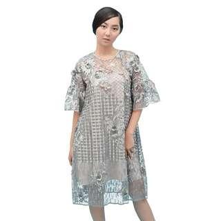 Cattleya Dress Grey (RENT ONLY)
