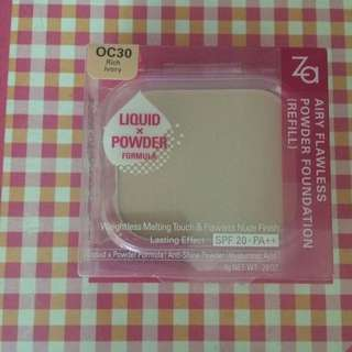 ZA airy flawless powder foundation (refill)