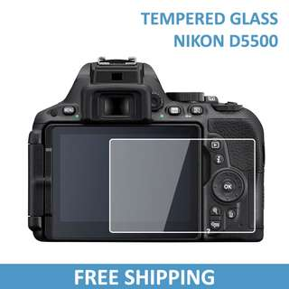 Nikon D5500 Tempered Glass Screen Protector / A02