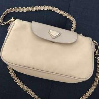 Prada Nylon Sling Bag Preloved / Replica