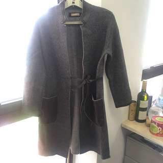 Rosso35 Lana Wool Coat