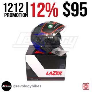 121212% PROMOTION! LAZER CARBON SERIES