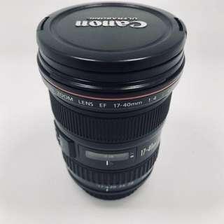 17-40mm f4 Canon L Lens