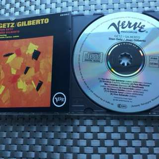 Getz/Gilberto 西德銀圈