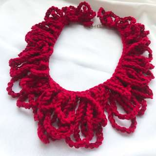 🇯🇵 Knitted Necklace