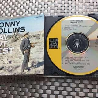 Sonny Rollins way out west 舊美版 冇ifpi