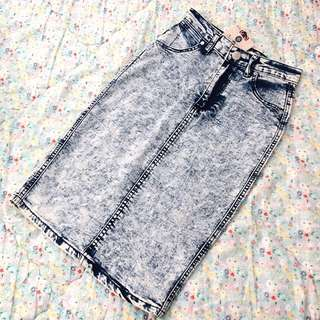 Brand New Denim Skirt S/6-8
