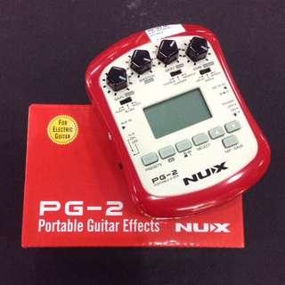 NUX Portable Guitar Effect